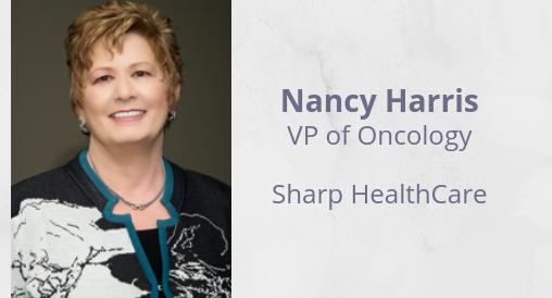Nancy Harris - Sharp HealthCare