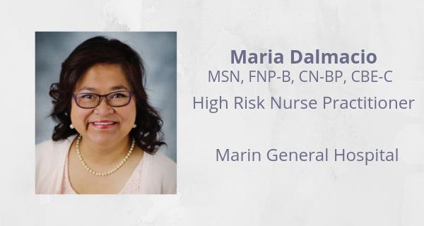 Maria Dalmacio, Marin General Hospital